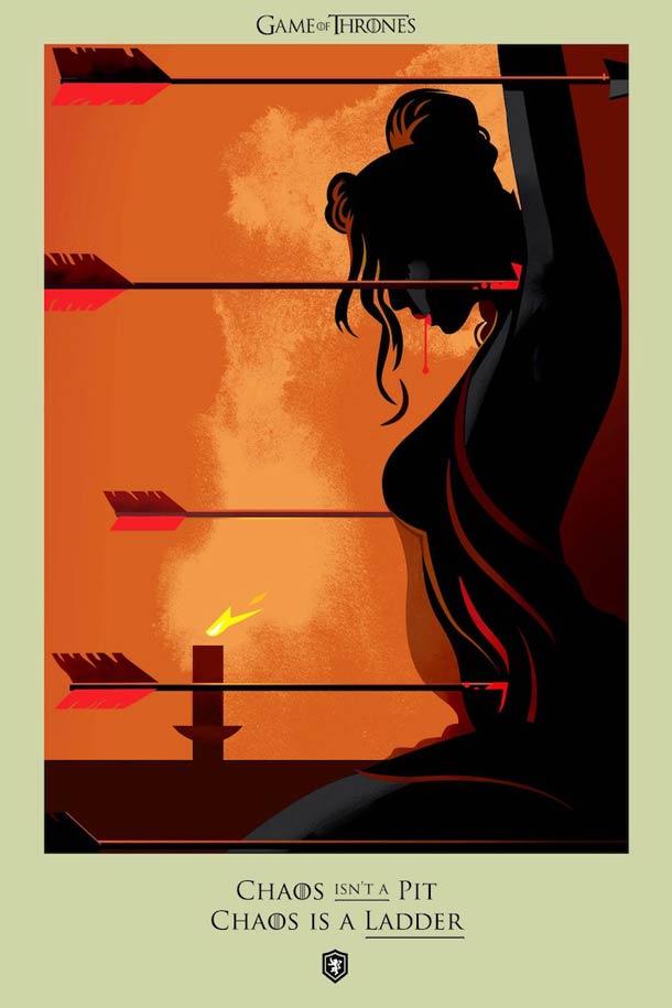 Beautiful Death - Toutes les morts de Game Of Thrones dans de superbes illustrations !