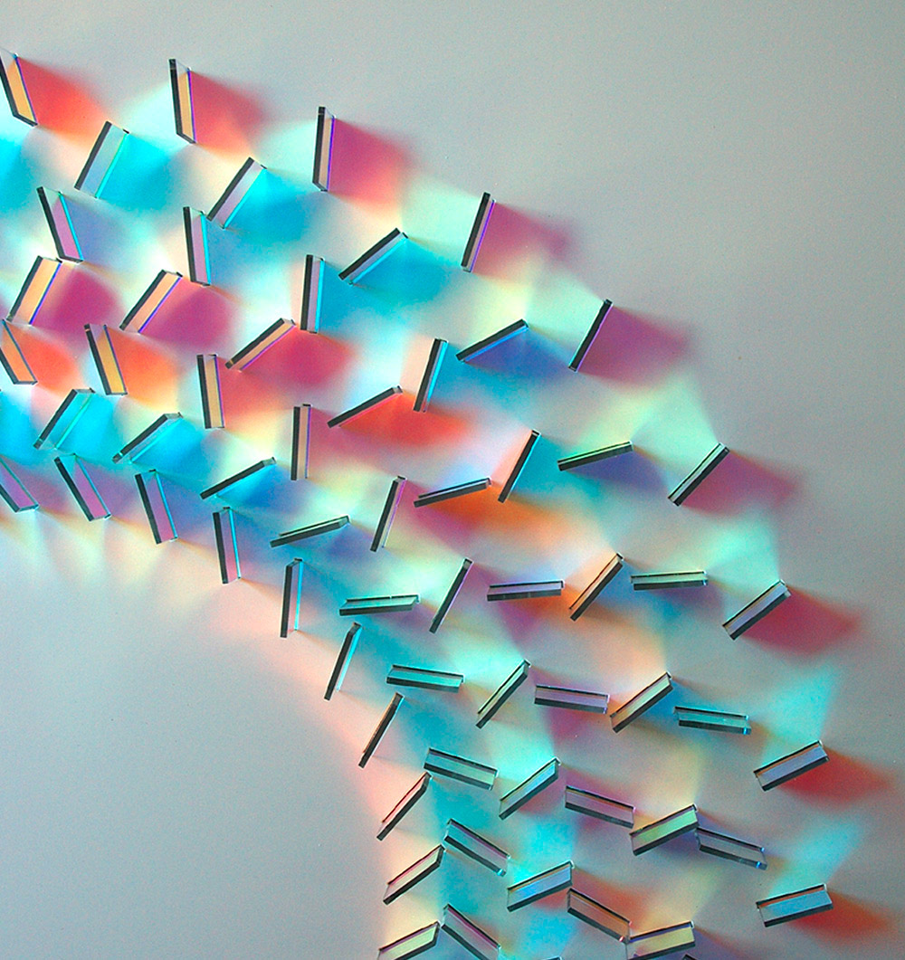 Dazzling Glass Installations by Chris Wood