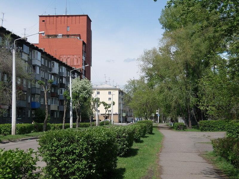 Новокузнецк - Улица Воробьева
