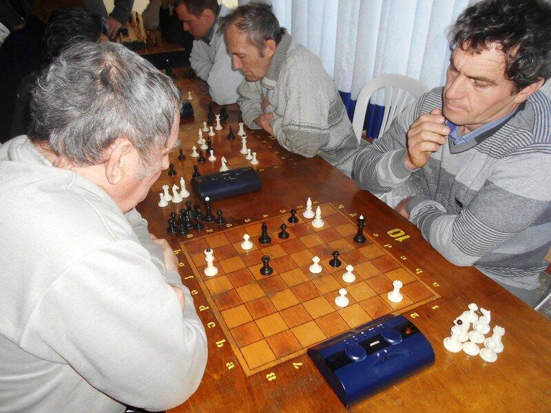Сложно... Шахматный турнир. Выселки. Декабрь 2016