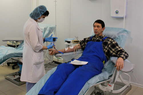 Экскурсия в донорский центр Саратовской области