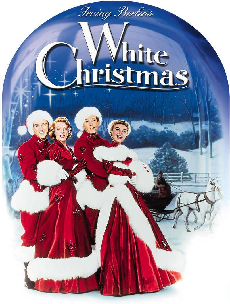 WHITE CHRISTMAS - This Christmas classic starring Bing Crosby and Rosemary Clooney tells the story of a successful song-and-dance team who become romantically involved with a sister act and team up to save the failing Vermont inn of their former commandin