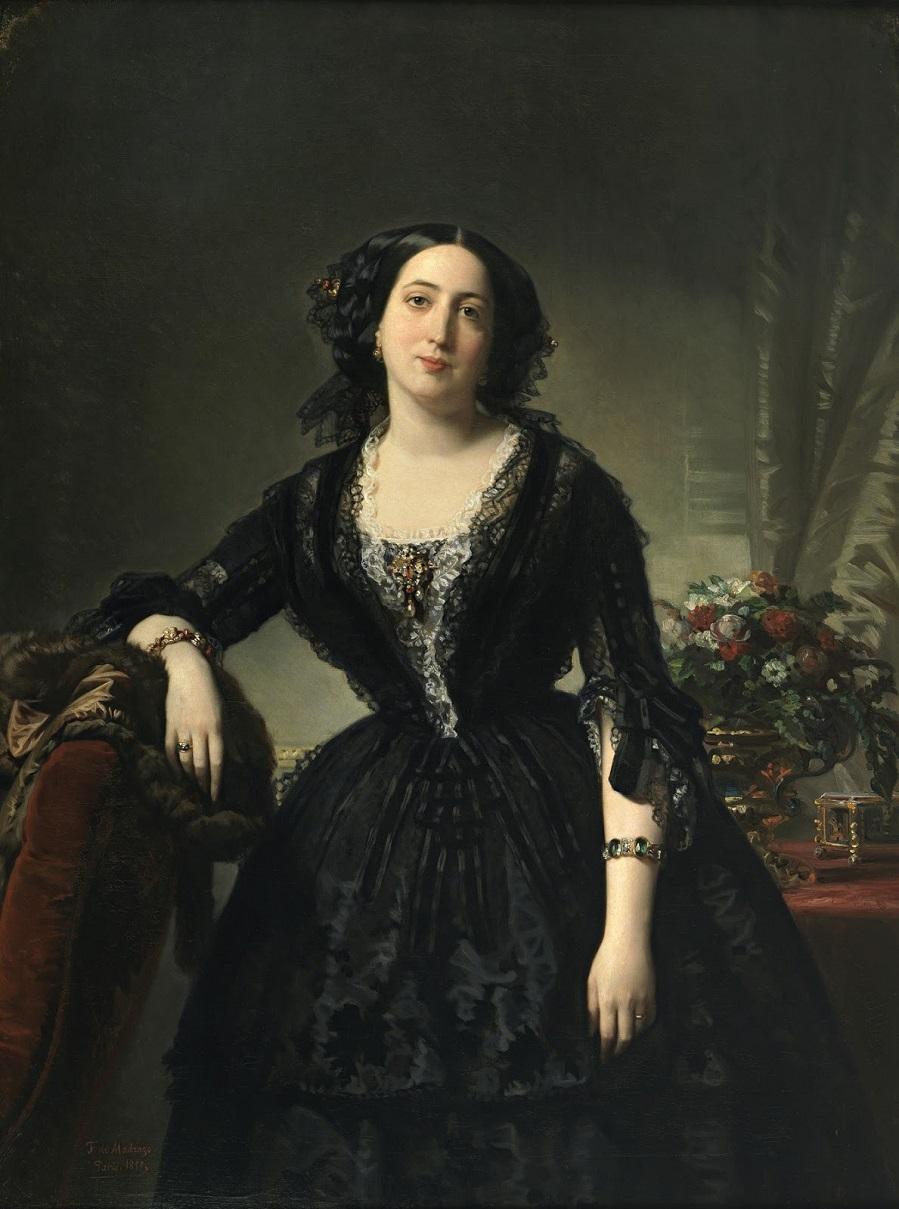 1855_Мария Долорес де Альфонсо-и-Альдама, маркиза Монтело (Maria Dolores de Aldama, marquesa de Montelo)_130 х 98_х.,м._Мадрид, музей Прадо.jpg