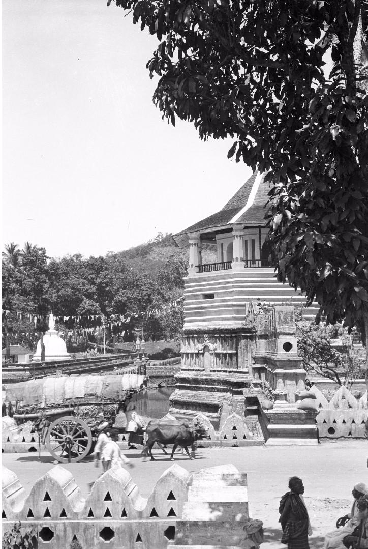 212. Библиотека храма Зуба Будды (Шри Далада Малигава) в Канди