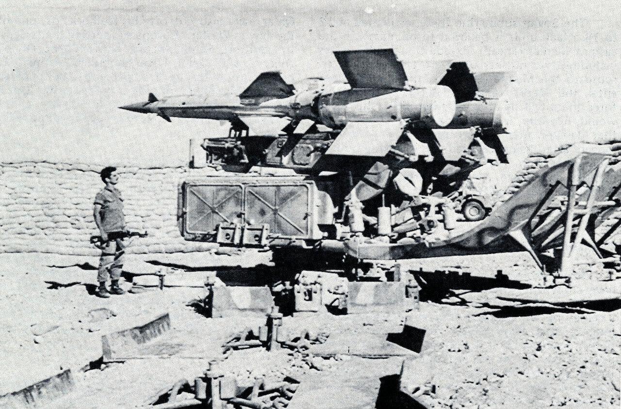 Египетская ракетная установка, захваченная израильтянами