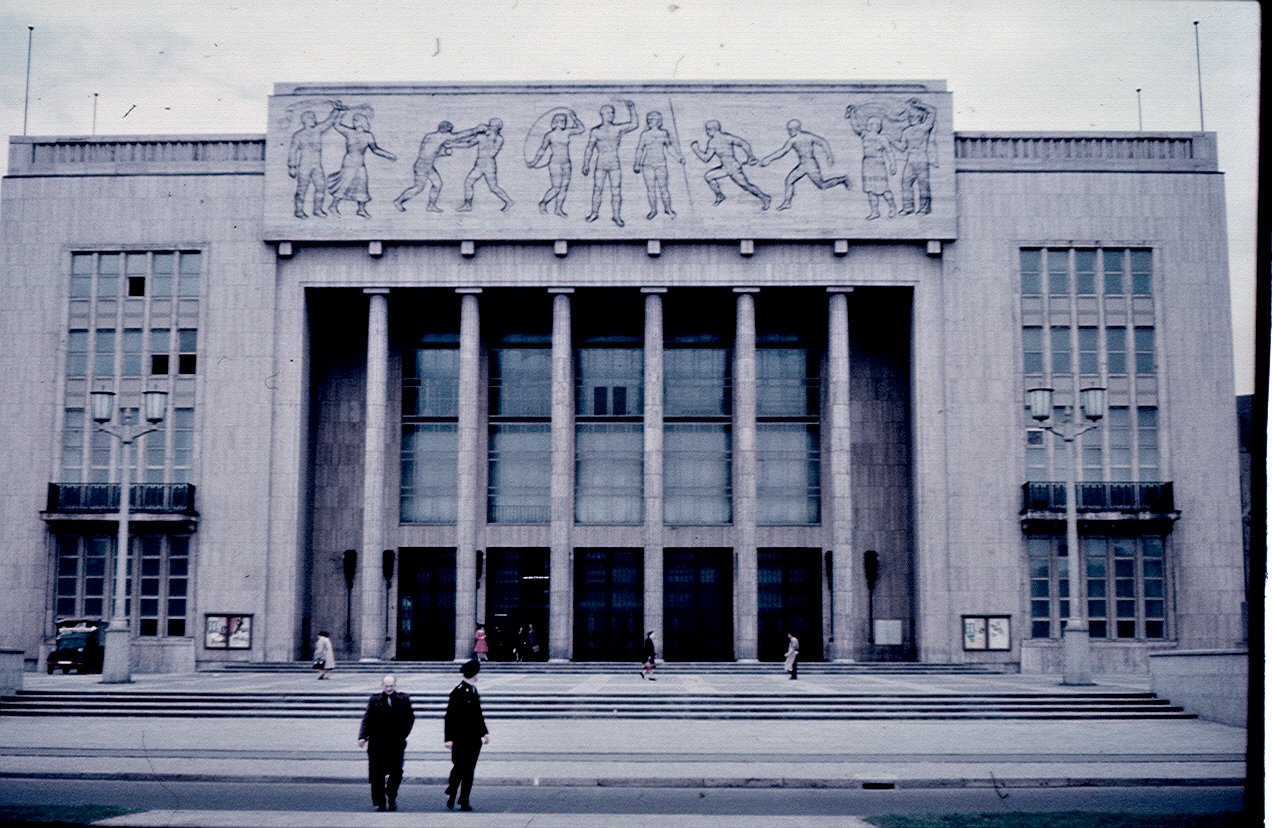 Берлин. Спортзал
