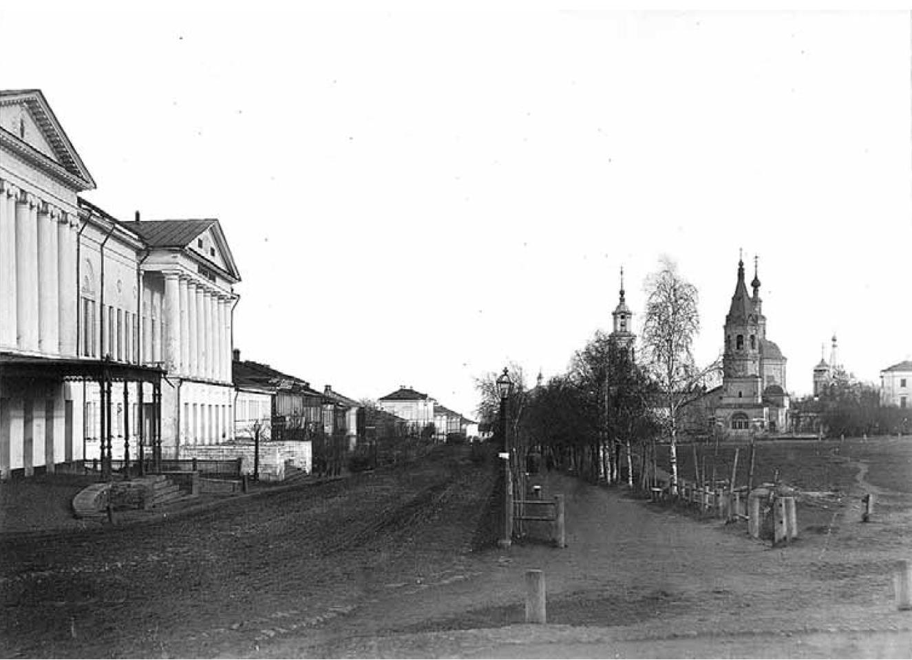 Большая Нижегородская улица. Вид начала улицы с запада. Кукушкин В.Г. 1876-1881 гг.