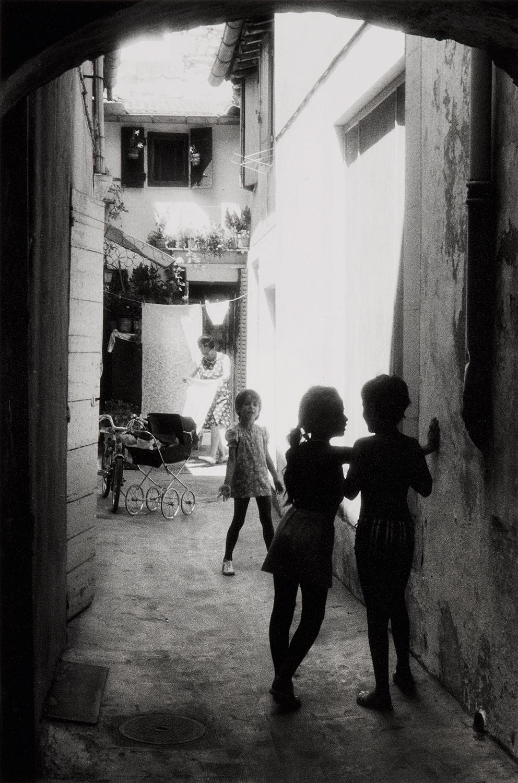 1975. Арль. Дети