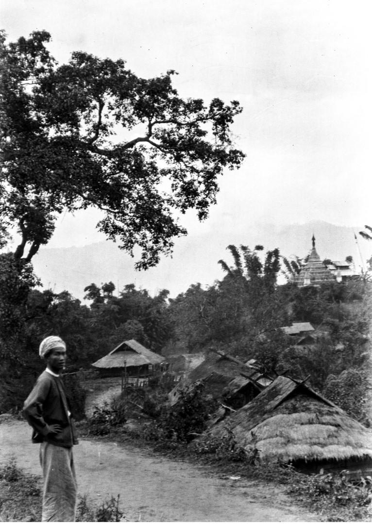 1023. Вид деревни
