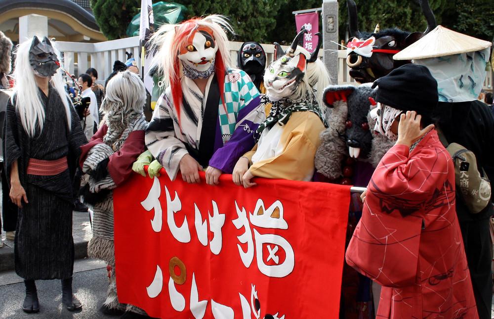 Снимки повседневной жизни в Японии