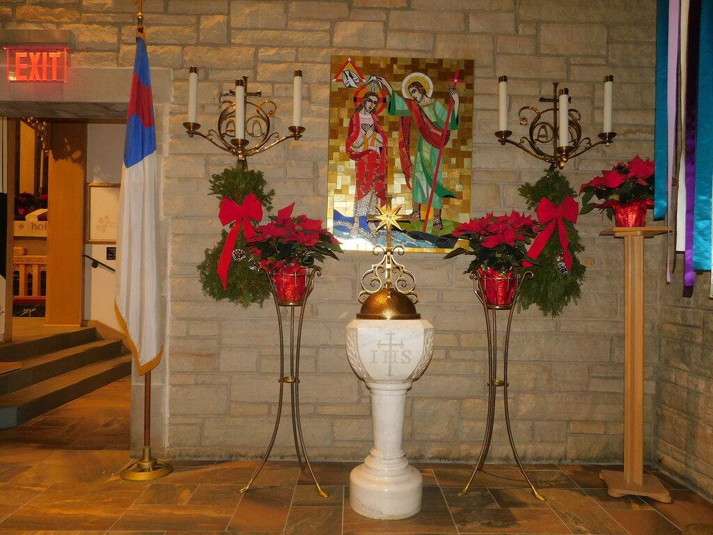 Церемония зажжения свечей.
