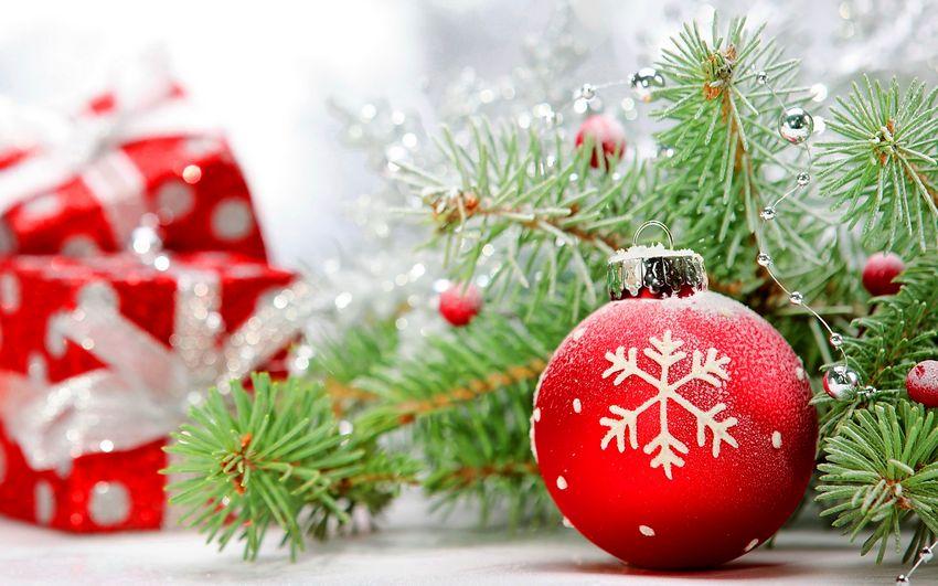 Новый год, ёлочные игрушки, новогодние украшения