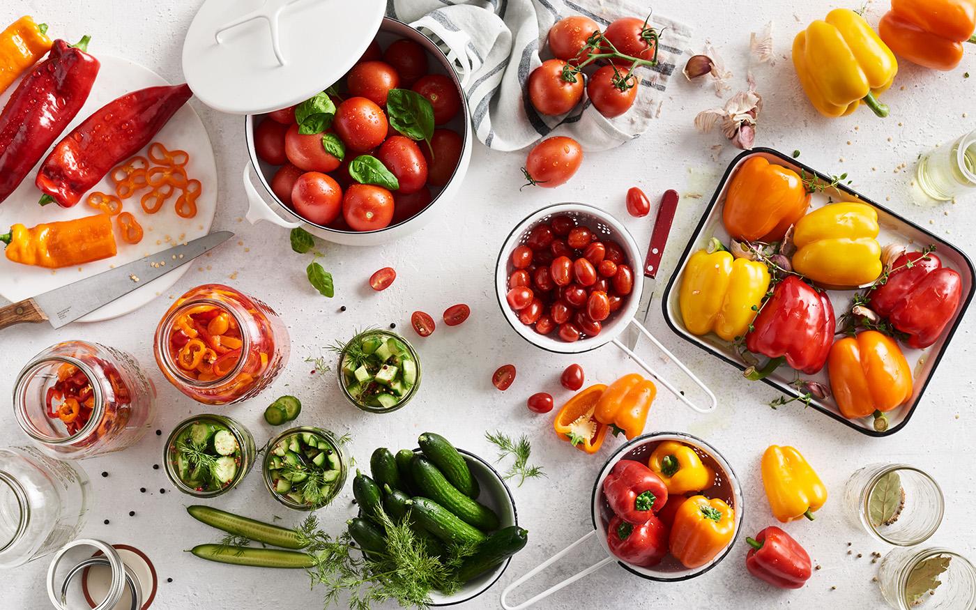 Свежие продукты / фотограф Christian Lalonde