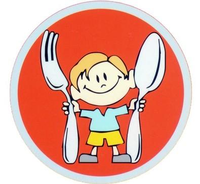 2 июня День здорового питания. Малыш с вилкой и ложкой