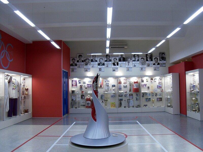 Новосибирск. Музей олимпийской славы.