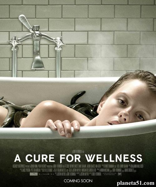 Лекарство от здоровья / A Cure for Wellness (2016/DVDRip)