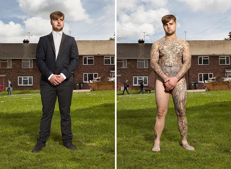 3. Крис, 25 лет, Ковентри. «Если вдруг забуду, кто я такой, то сниму одежду, посмотрюсь в зеркало и