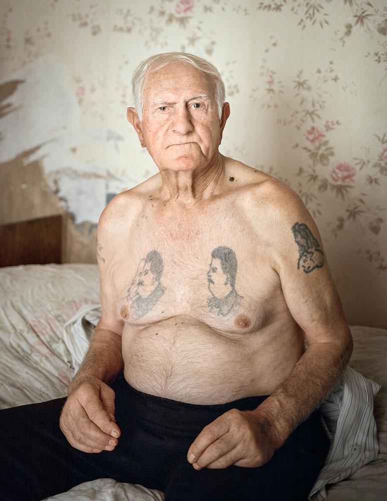 Когда тело Сталина вывезли из Мавзолея, Шалва и еще девять человек решили сделать себе татуировки с