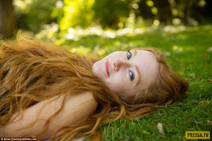 Крисси из Германии. Американский фотограф Брайан Доулинг, живущий в данный момент в Берлине, решил п