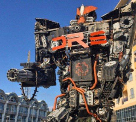 Черногория не является местом посадки реальных роботов-трансформеров, но имеет несколько удив