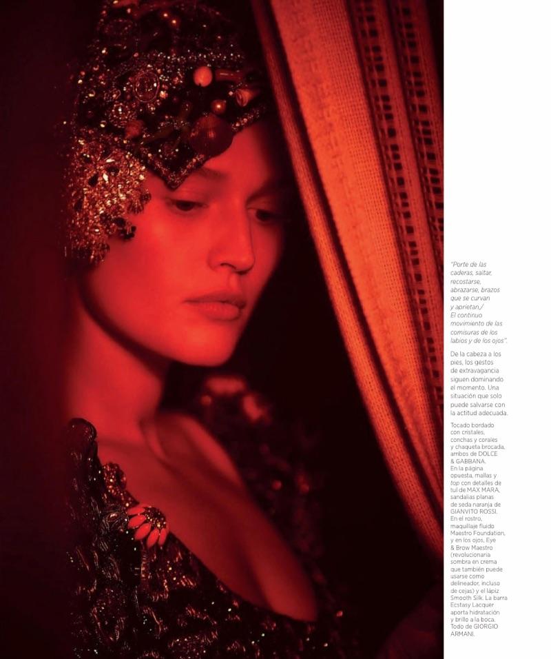 Тони Гаррн в испанском Harper's Bazaar