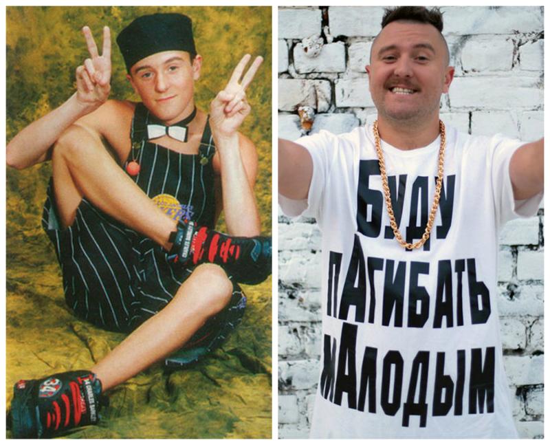 Мистер Малой, 38 лет 13-летний дерзкий рэпер, пропагандировавший алкоголь и наркотики в начале 90-х,