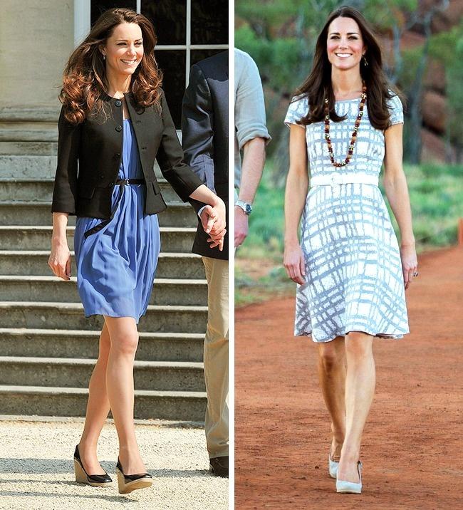 © rexfeatures  Герцогиня часто выходит всвет водном итомже наряде илюбит бюджетные бренды