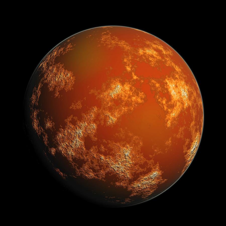 Ученые говорят, что жидкая вода сМарса «сбежала»
