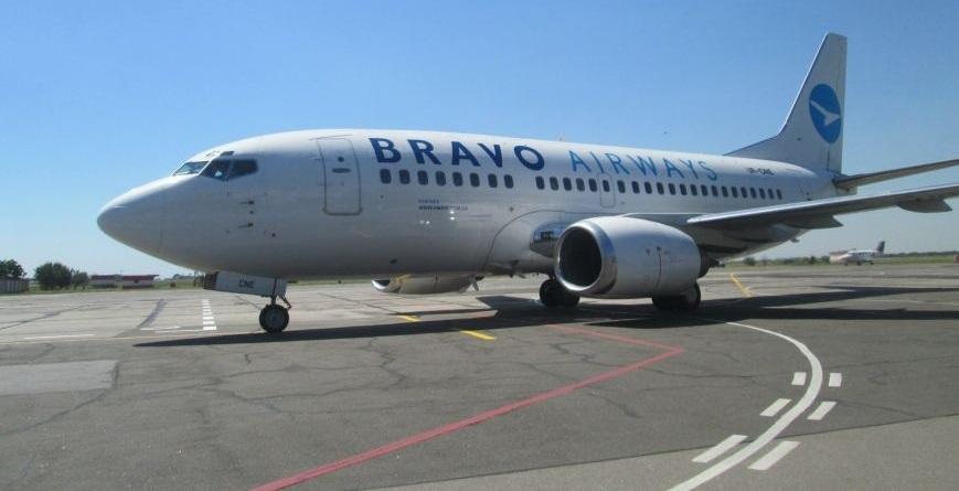 Авиакомпания Bravo Airways закрывает один извнутренних рейсов вгосударстве Украина