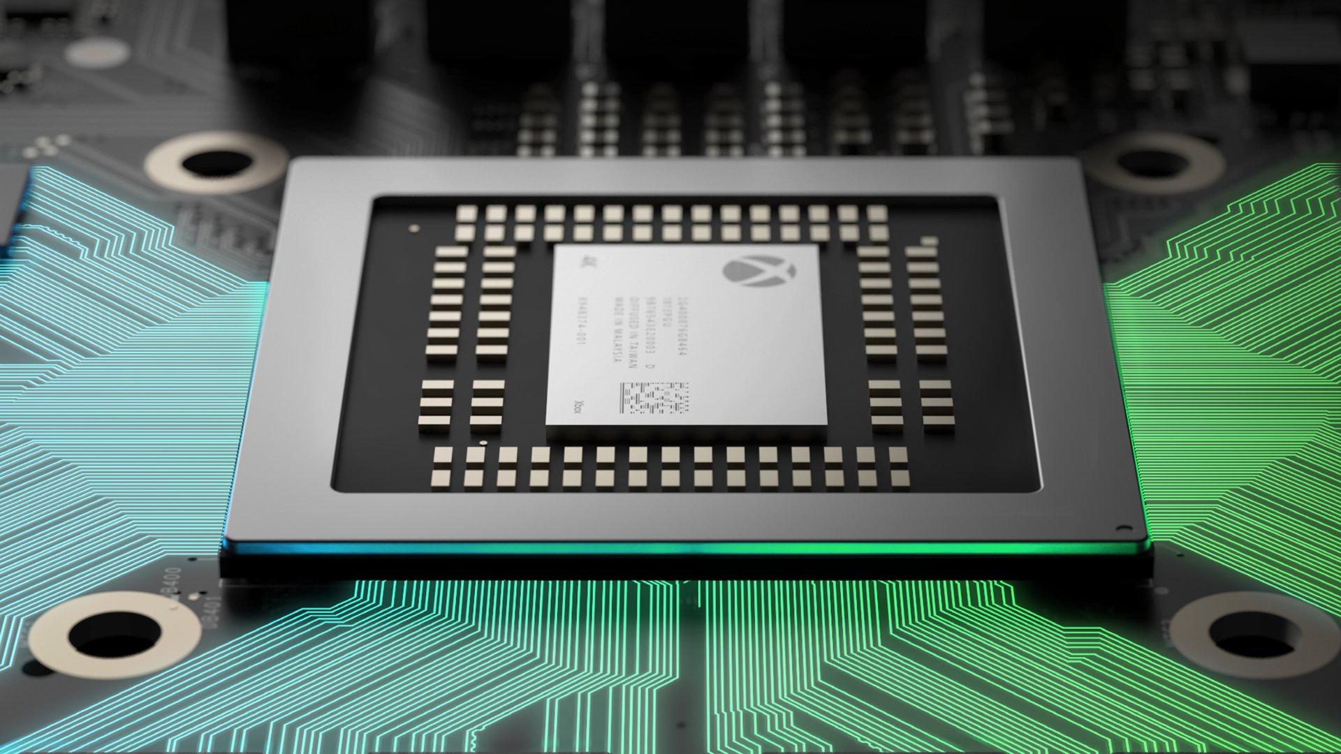 Xbox One Scorpio— размещены технические данные консоли