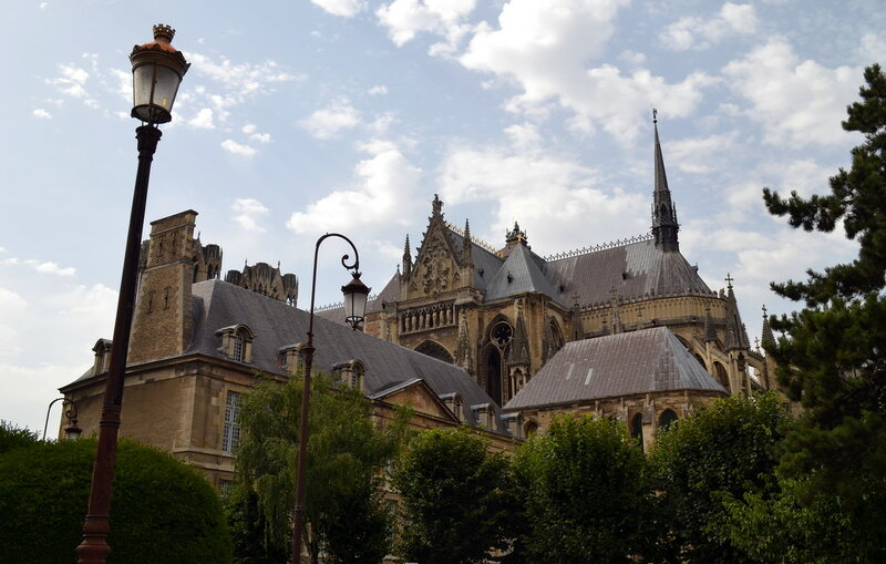 Cath'edrale Notre-Dame de Reims
