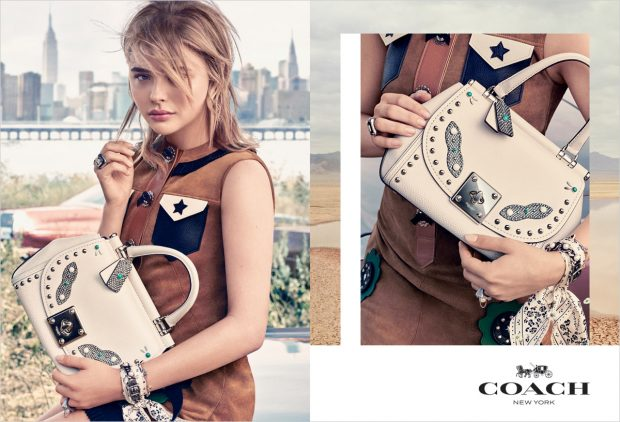 Coach 1941 Spring Summer 2017 Campaign Starring Chloe Grace Moretz