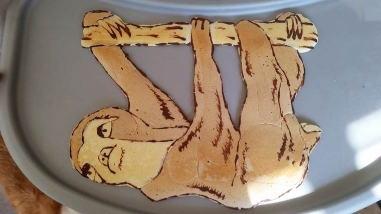 The awesome pancakes of a creative dad!