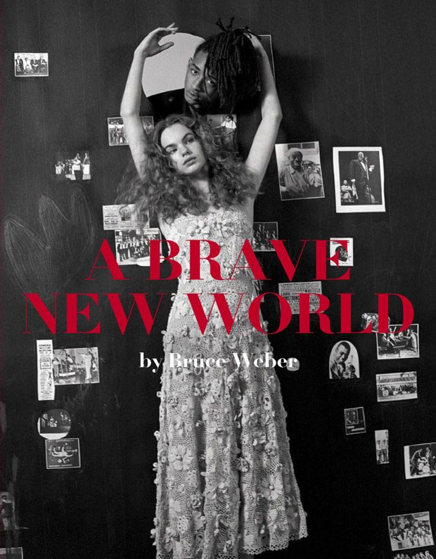A Brave New World: Estella Boersma & Jaden Smith for Vogue Italia