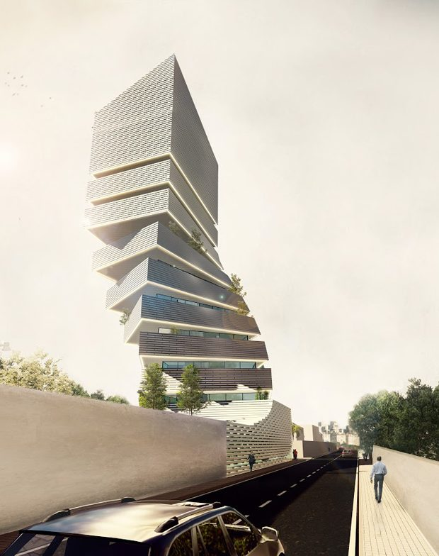 ABIDJAN TOWER  In your career, you have done a lot of projects which include not only architecture,