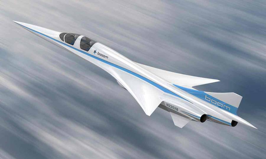 First Supersonic Flights by Boom