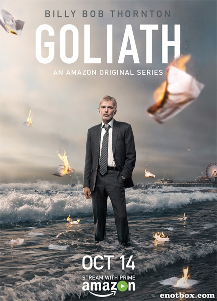 Голиаф (1 сезон: 1-8 серии из 8) / Goliath / 2016 / ПМ (NewStudio) / WEBRip + (720p) + (1080p)