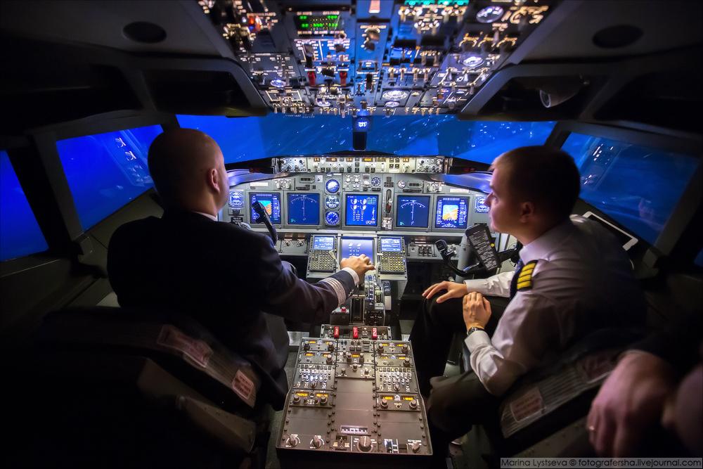 Открытие полётов в центре Москвы!