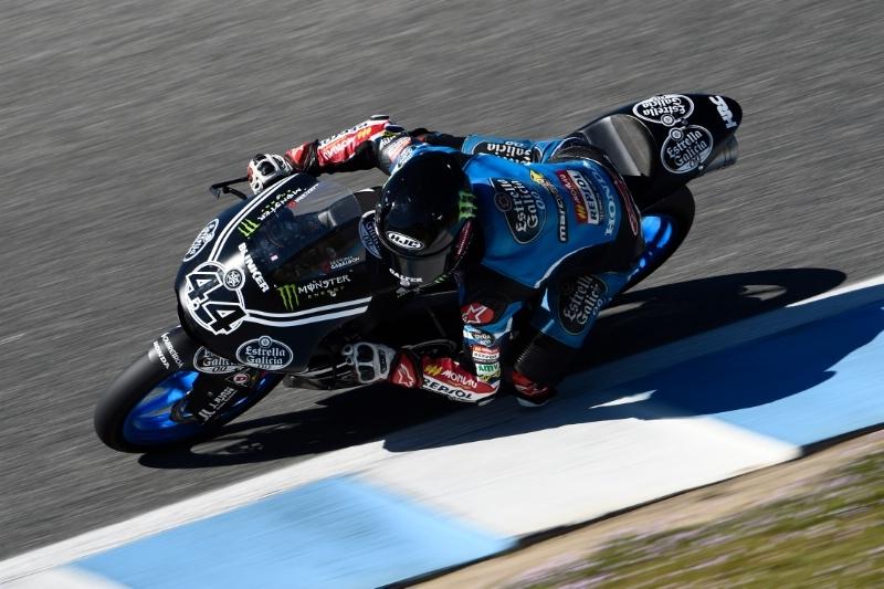 Арон Кане возглавил первый день испытаний Moto3 в Хересе