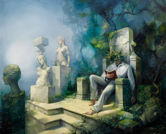 Beautiful Paintings by Michael Zancan