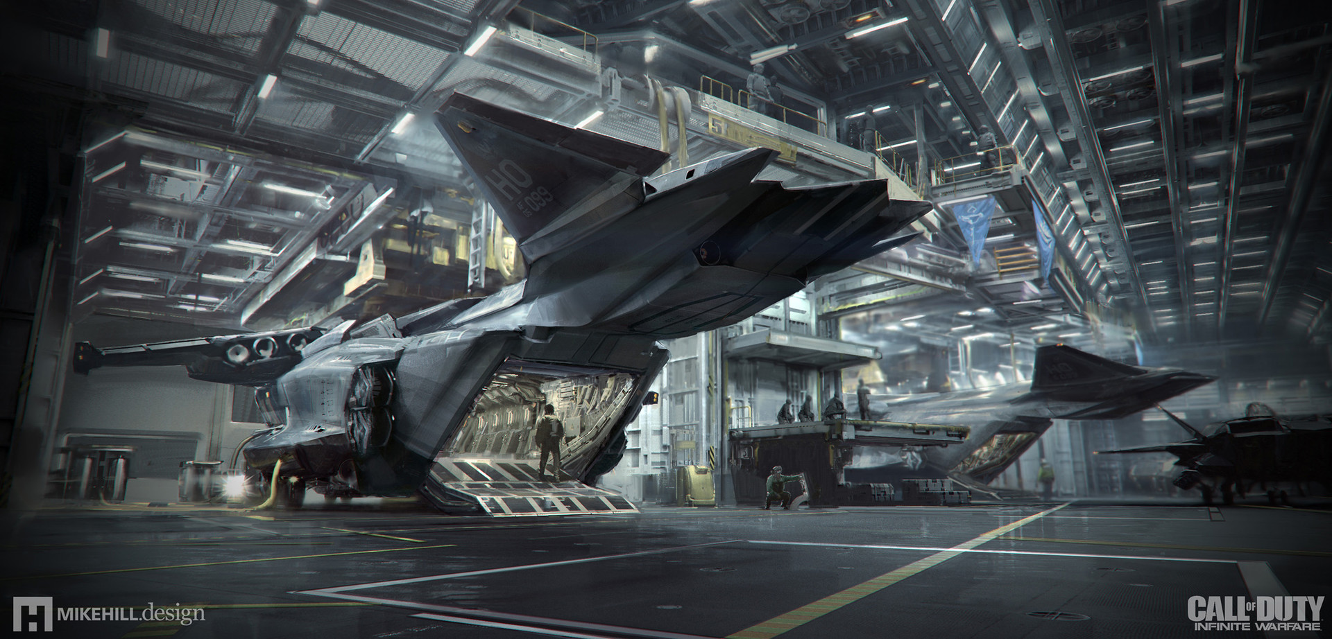 Call of Duty: Infinite Warfare Concept Art by Mike Hill