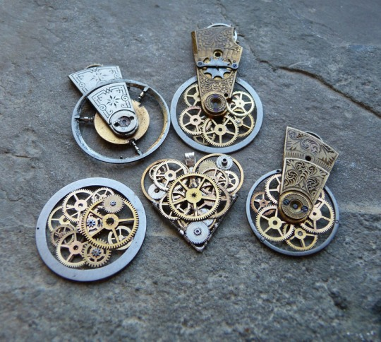 Various Steampunk Artworks by JM Gates