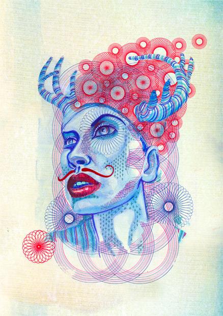 Various Artworks by Eric van den Boom