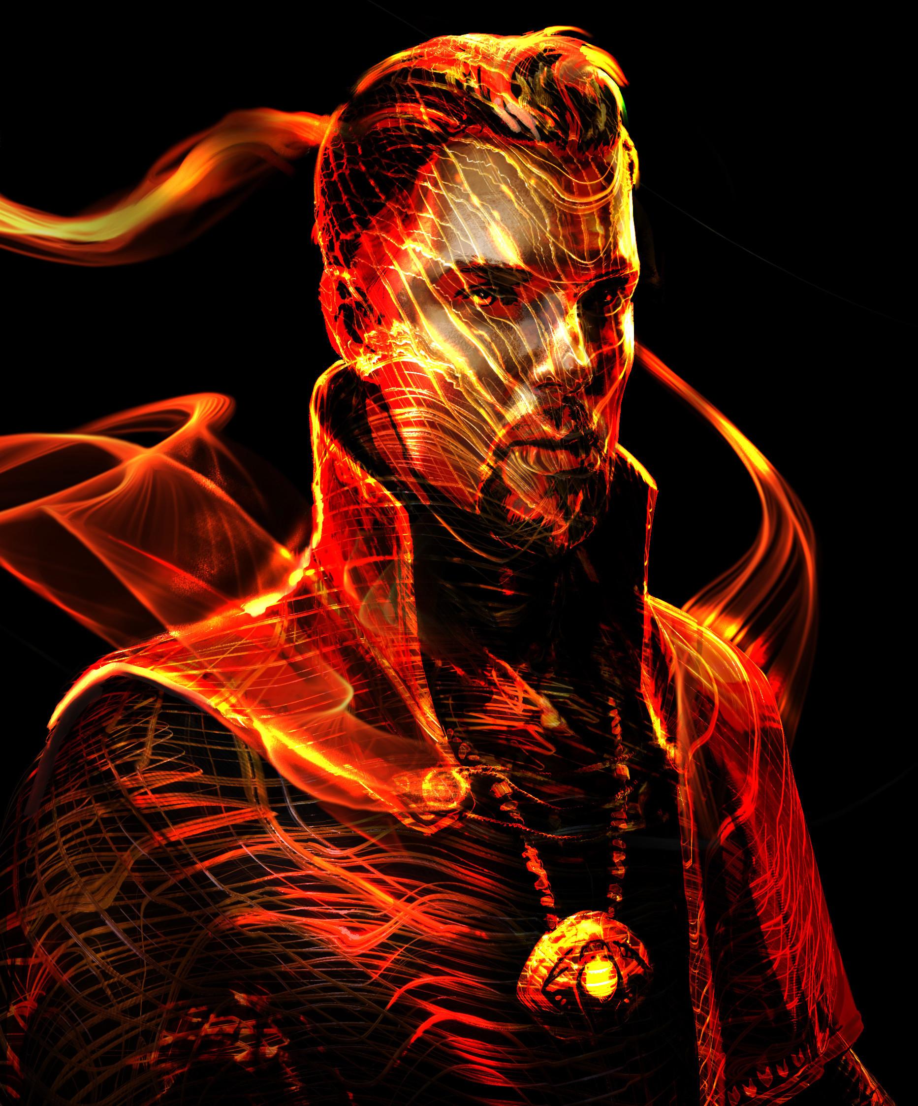 Doctor Strange Concept Art by Jerad Marantz