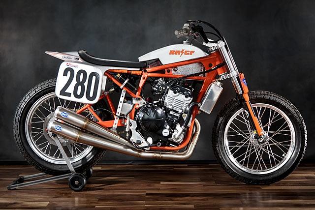 River Rat Cycle: флэт-трекер Kawasaki Ninja 650R No. 280