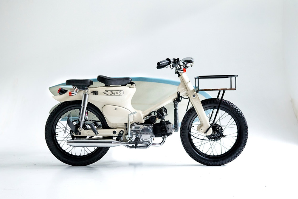 Deus: кастом Honda Super Cub C70 Sea Sider
