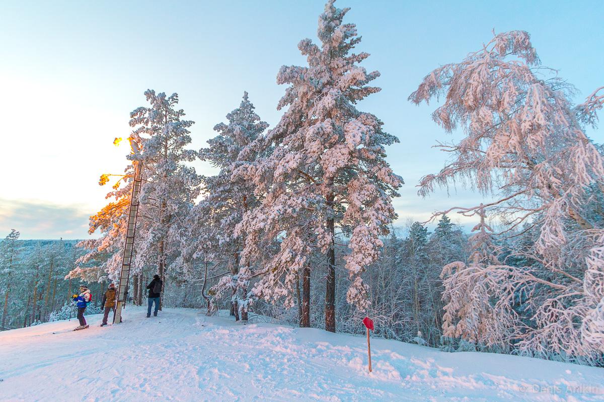 хвалынск зима горнолыжка фото 1