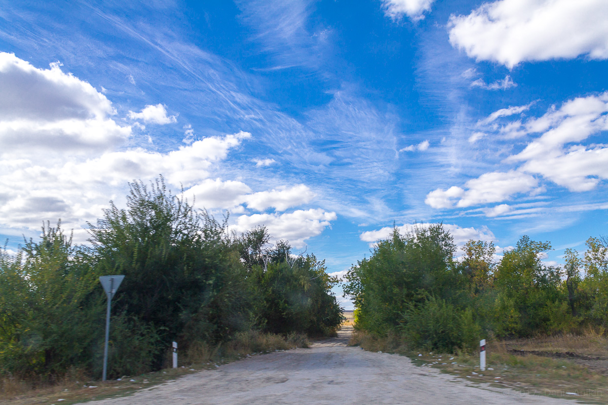 По дороге с облаками фото 1