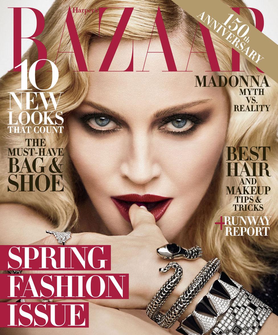 Madonna / Мадонна в журнале Harper's Bazaar US, февраль 2017 / фотографы Luigi & Iango