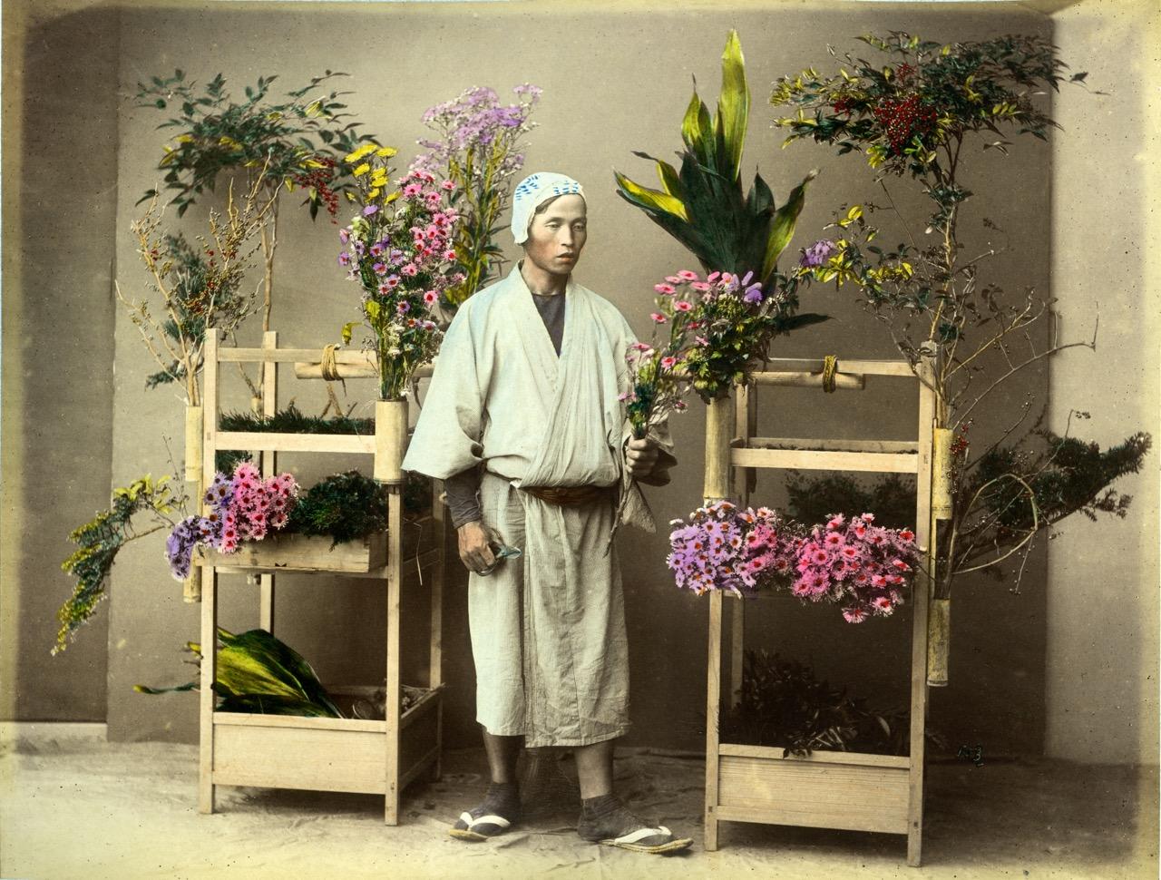 Торговец цветами